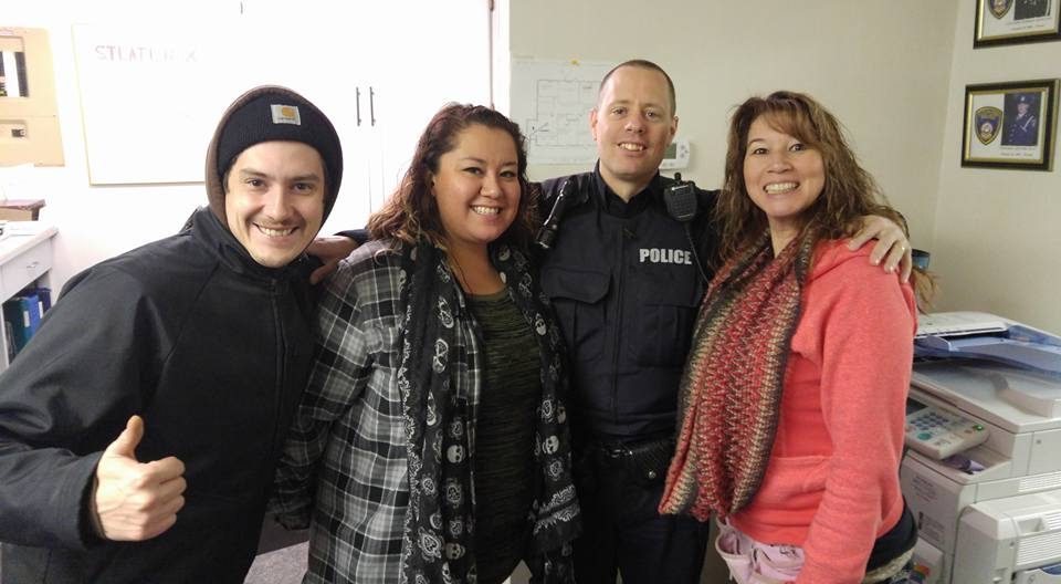 First nation tribal police