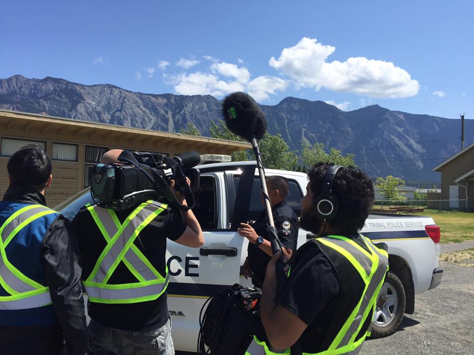 """Tribal Police Files"" resumes shooting in Lillooet BC"