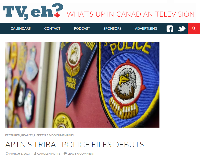TV, eh? What's up in Canadian Television – TPF